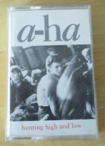 A-ha cassette  hunting high and low 07599253004