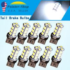 10x White 7443 5050 18SMD LED Light Bulbs Back Up Reverse Brake Lights 7440 7441