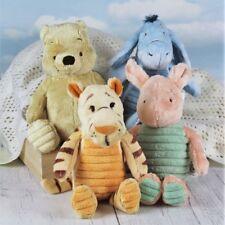 Winnie the Pooh, Tigger, Eeyore & Piglet Pastel Plush Toys, Soft Toys, 20cm
