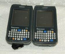Lot Of 2 - Intermec Cn3 Handheld Barcode Scanners #498, 499 @A61