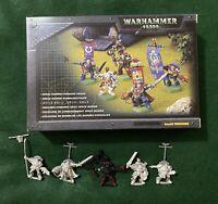 Warhammer 40k Space Marines Command Squad Metal Games Workshop Boxed OOP WH40K