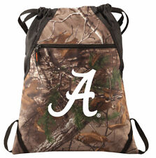 Alabama Camo Cinch Pack REALTREE University of Alabama Drawstring Bag Backpack