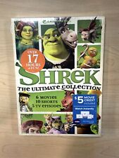 New Shrek: The Ultimate Collection 6 Movies, 10 Shorts, 5 Episodes Dvd, 2019 New