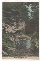 Black Pool LARGO IN - Vintage 1916 Indiana Postcard