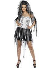Smiffys monstruos Novia Disfraz Halloween Vestido de Fantasía Horror Fiesta