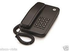 MOTOROLA CORDED TELEPHONE CT 100 BLACK