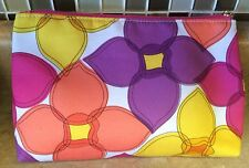 Clinique Make Up Bag Floral Print