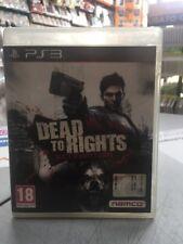 Dead to Rights Retribution Ita PS3 USATO GARANTITO