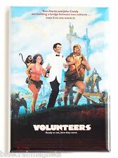 Volunteers FRIDGE MAGNET (2 x 3 inches) movie poster tom hanks john candy