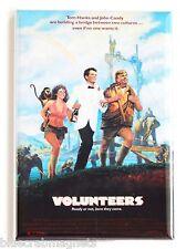 Volunteers FRIDGE MAGNET (2 x 3 inches) movie poster tom hanks john candy