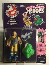 Anni 1980 KENNER THE REAL GHOSTBUSTERS PETER VENKMAN & ghoulgroan Ghost SIGILLATO