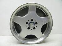 "Mercedes W220 S430 CL500 S55 AMG Rear Wheel Rim Silver 9.5 x 18"" OEM 73019 #3"