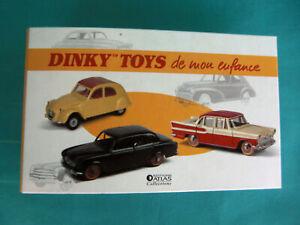 DINKY TOYS CLASSEUR POUR FICHES ÉDITION ATLAS Ref 2