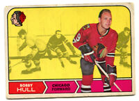 1968/69 OPC Bobby Hull Card #16 Chicago Black Hawks