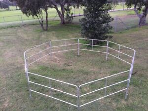 Portable Horse Float Yards Panel Pin Included for Holding Yard
