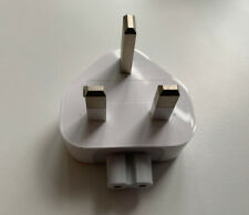 Genuine APPLE Macbook AC UK Wall Power Charger Block Plug Adapter UK