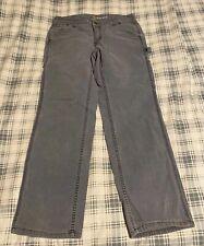 Carhartt Women's Pants Size 6 Short Gray Worn Carpenter