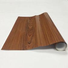 Wood Grain High Glossy Textured Vinyl Self-adhesive Car Internal Wrap Sticker