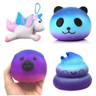 Galaxy Pig Panda Cream Scented Squishy Slow Rising Squeeze Kid Toy Phone Gift