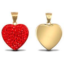 Gelbgold beschichtete Modeschmuck-Ringe mit Kristall-Hauptstein für Damen