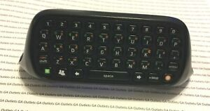 Official Xbox 360 ChatPad Black Controller Keyboard X852479-001
