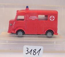 Praliné 1/87 Nr. 81917 Citroen H Kasten Freiwillige Feuerwehr Trier OVP #3181
