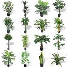 Artificial Fake Green Tree Green Plant Pot Indoor Garden Plants Flower Decor New
