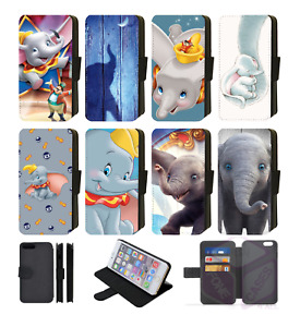 Disney DUMBO the Elephant Wallet Flip Phone Case iPhone all models available