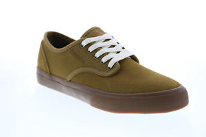 Emerica Wino Standard Mens Brown Suede Skate Inspired Sneakers Shoes