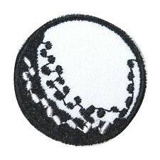 ID 1524 Golf Ball Patch Recreation Sport Tee Driving Embroidered IronOn Applique