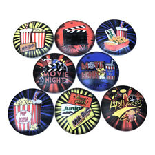 Set of 8 At the Movies Cabinet Knobs