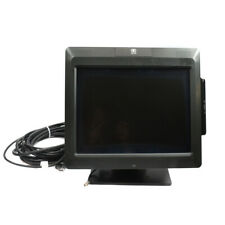 """NCR 5965-1014-9090 15"""" LCD High Brightness Display POS Touchscreen Monitor+Stand"""