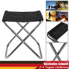 Outdoor Tragbarer Klappstuhl Teleskop Klapphocker Angeln Camping Stuhl Sitz Seat