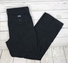 ATLANTIC BAY Black PANTS CLASSIC FIT  Mens size W34 L29