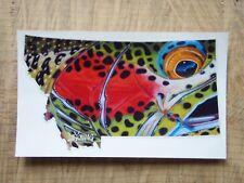97b65023d1083 Montana Rainbow Trout Fly DeYoung Sticker