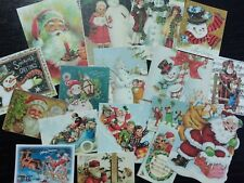 BB36:Vintage images of CHRISTMAS,Christmas Gift - Die Cuts Scrapbooking
