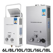 6L/8L/10L/12L/16L/18L LPG Propane Gas Hot Water Heater Instant Boiler