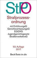 Strafprozessordnung (1965, Taschenbuch)