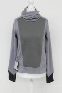 ON-RUNNING Ladies Grey Cowl Neck Long Sleeve Running Weather Shirt XS BNWT