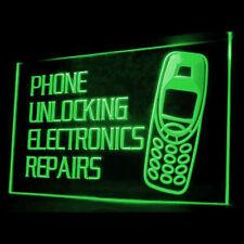 190022 Phone Unlocking Legal Official Unlock Repais Shop Display Led Light Sign