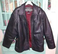Oakwood heavy leather coat.