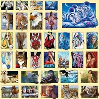 5D Tiger Diamond Painting Embroidery DIY Needlework Cross Stitch Mosaic Decor