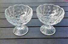 WOW! 2x Glas-Eisbecher / Eisschale Gastro Geschirr 12cm hoch zum Spottpreis!!