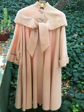 EXTRAORDINARY Saks 5th Ave.50-60's COUTURE coat! Turn heads for the holidays!