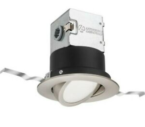 Lithonia Lighting OneUp 4 in. Canless 4000K  Dimmable LED Recessed Light Kit