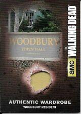 Walking Dead Season 4 Part 2 Wardrobe Card M38 Woodbury Resident Wardrobe