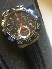 Cronógrafo TAG Heuer de Fórmula 1 CAH1110.FT6024 Rojo Negro Reloj De Goma-Garantía