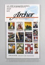 Archer 1/35 US Propaganda Posters WWI (28 posters) [Printed Diorama] AR35405