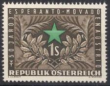 Österreich 1954 ANK 1014 / Michel 1005 50 Jahre Esperantobewegung postfrisch