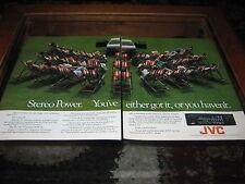 JVC Radio Cassette anuncio, características Ford Granada